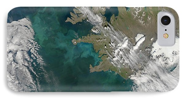 Phytoplankton Bloom In The North Phone Case by Stocktrek Images