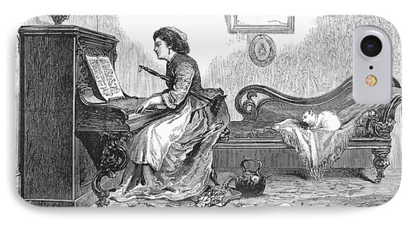 Pianist, 1876 Phone Case by Granger