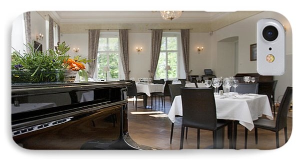 Piano In A Upscale Dining Room Phone Case by Jaak Nilson