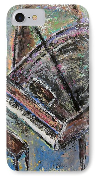 Piano Study 9 IPhone Case by Anita Burgermeister