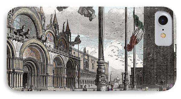 Piazza San Marco In Venice IPhone Case