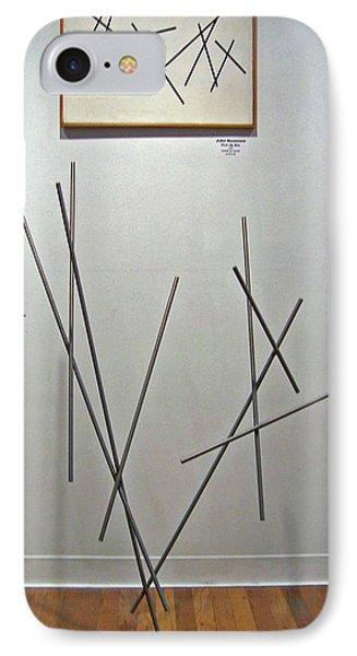Pick Up Sticks And Thunderbird Phone Case by John Neumann