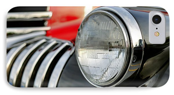 Pickup Chevrolet Headlight. Miami IPhone Case by Juan Carlos Ferro Duque