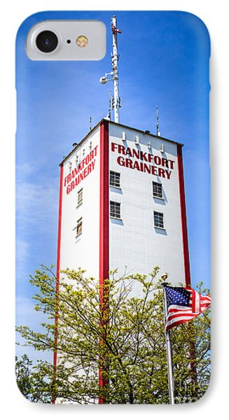 Picture Of Frankfort Grainery In Frankfort Illinois IPhone Case by Paul Velgos