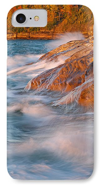 Pictured Rocks Lake Superior Phone Case by Dean Pennala