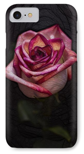 Picturesque Satin Rose Phone Case by Linda Tiepelman