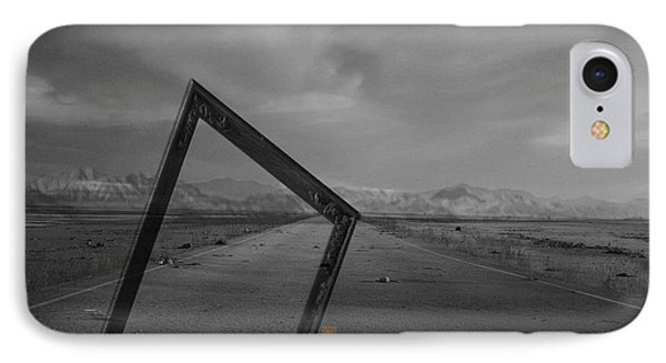Picturing The Road Ahead Phone Case by Jerry Cordeiro