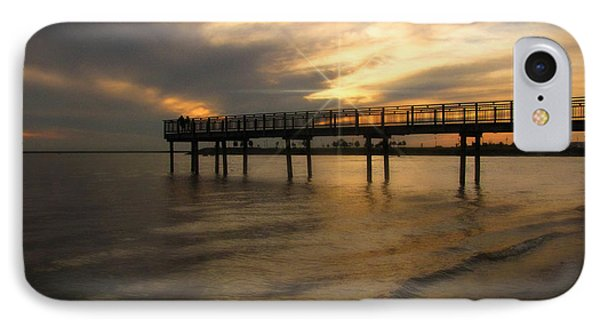 IPhone Case featuring the photograph Pier  by Cindy Haggerty