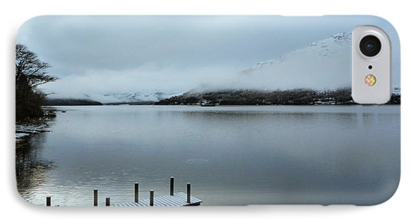 IPhone Case featuring the photograph Pier On The Loch by Lynn Bolt