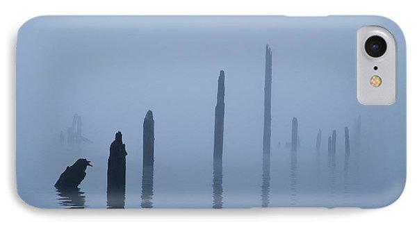 Pier Pilings In Water IPhone Case