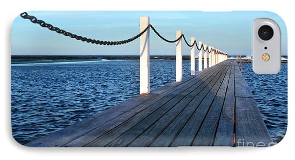 Pier To The Ocean Phone Case by Kaye Menner