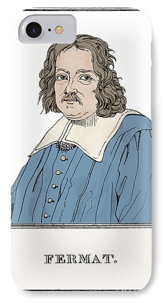 Pierre De Fermat, French Mathematician IPhone Case