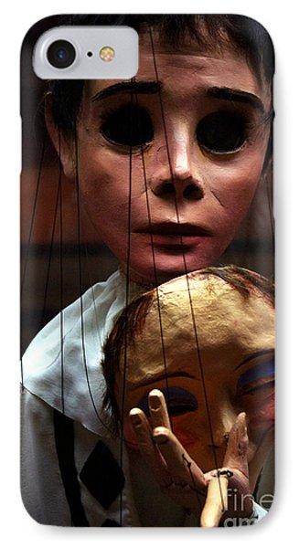 Pierrot Puppet IPhone Case