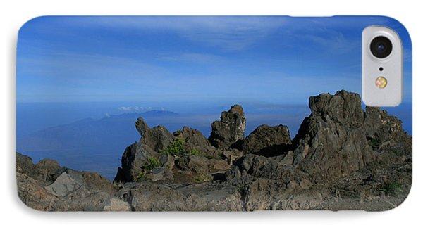 Pihanakalani Haleakala - House Of The Sun - Summit Sunrise Maui Phone Case by Sharon Mau