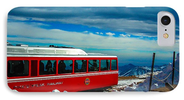 IPhone Case featuring the photograph Pikes Peak Railway by Shannon Harrington