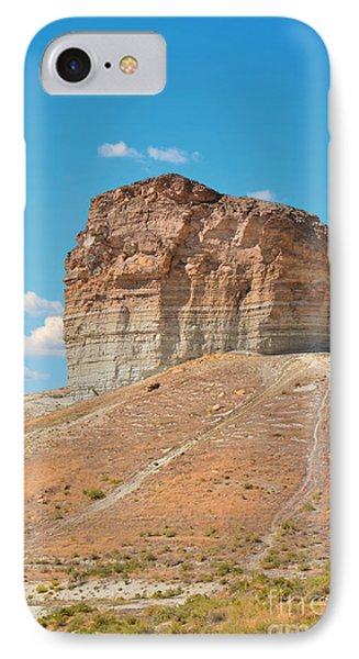 Pilot Butte Rock Formation II Phone Case by Donna Greene