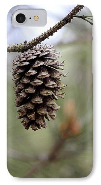 Pine Cone IPhone Case by Deborah Hughes