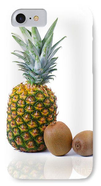 Pineapple And Kiwis Phone Case by Carlos Caetano