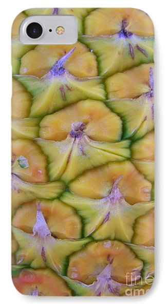 Pineapple Eyes Phone Case by Mary Deal