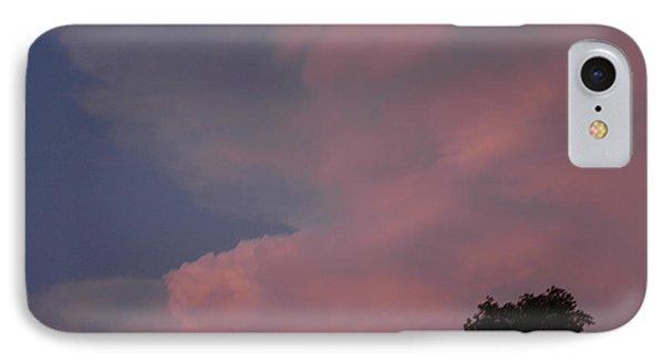 Pink And Blue Sky Phone Case by LeeAnn McLaneGoetz McLaneGoetzStudioLLCcom