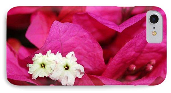 Pink Bouganvillea Phone Case by Sabrina L Ryan