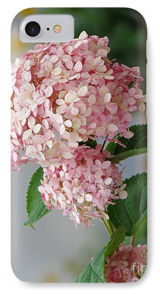 IPhone Case featuring the photograph Pink Hydrangea by France Laliberte