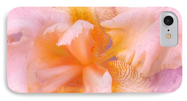 IPhone Case featuring the photograph Pink Iris by Cindy Lee Longhini