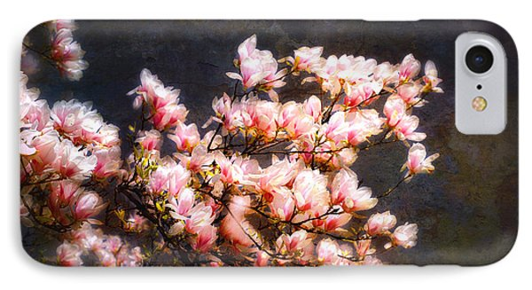 Pink Magnolias Phone Case by Elaine Manley