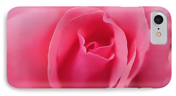 Pink Precious Powerful Rose Phone Case by Clayton Bruster