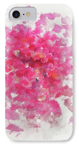 Pink Rose IPhone Case by Rachel Christine Nowicki