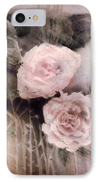 Pink Roses Phone Case by Arline Wagner