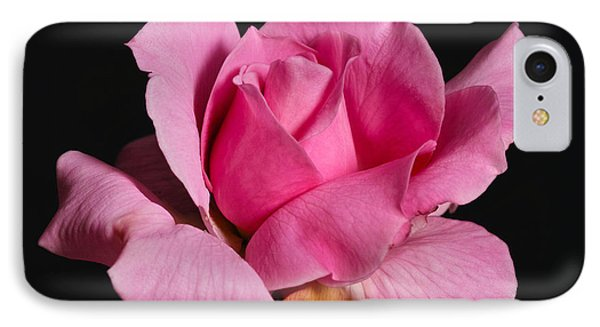 IPhone Case featuring the photograph Pink Tea Rose by Gary Dean Mercer Clark