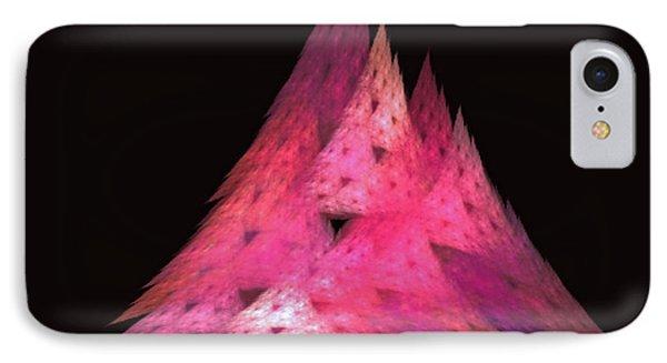 Pink Triangles Phone Case by Lynn Bolt