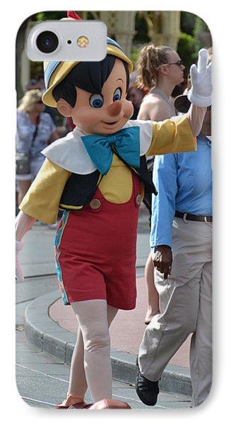 Pinocchio IPhone Case by Bonnie Myszka