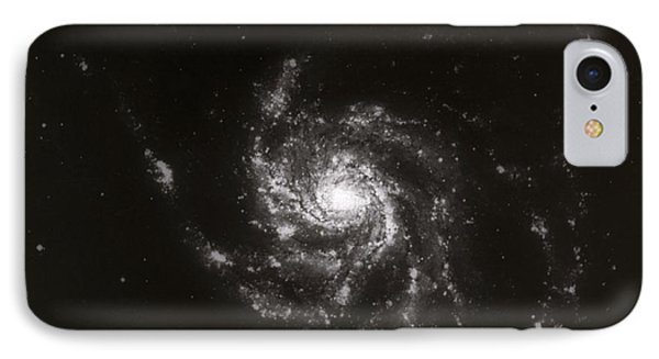 Pinwheel Galaxy, M101 Phone Case by Science Source