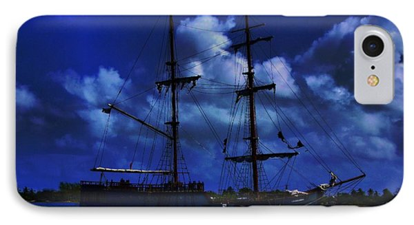 Pirate's Blue Sea IPhone Case by Patrick Witz