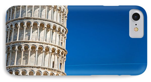 IPhone Case featuring the photograph Pisa Leaning Tower by Luciano Mortula