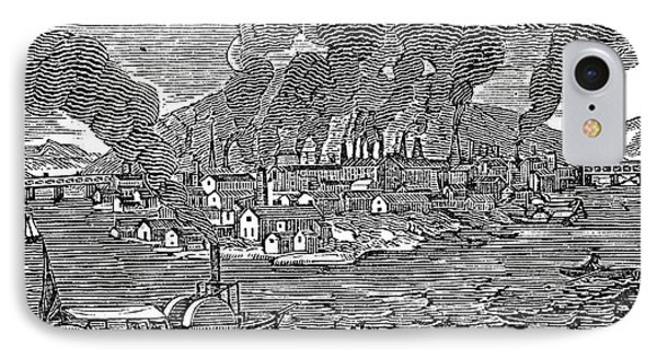 Pittsburgh, 1836 Phone Case by Granger