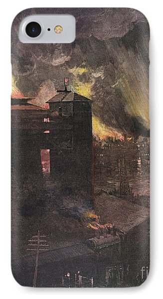 Pittsburgh: Furnaces, 1885 Phone Case by Granger