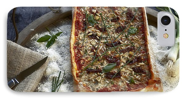 Pizza With Herbs Phone Case by Joana Kruse