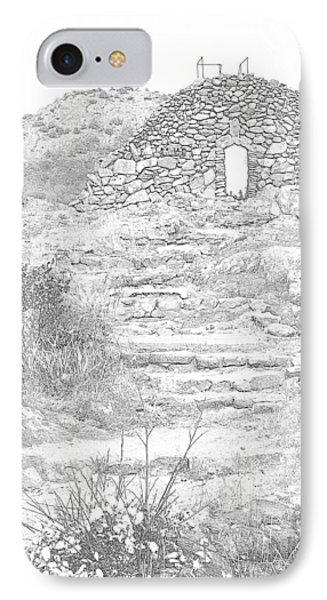 Place Of The Tomb Phone Case by Mickey Harkins
