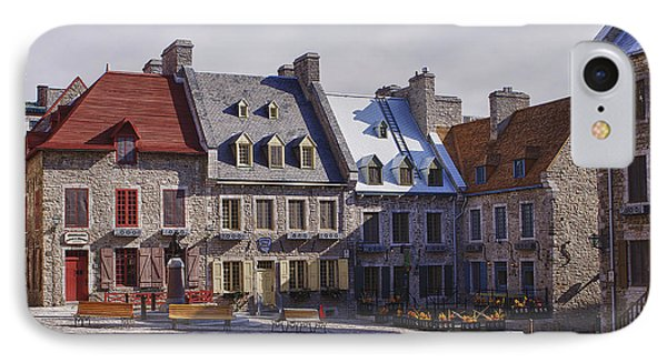 IPhone Case featuring the photograph Place Royale by Eunice Gibb