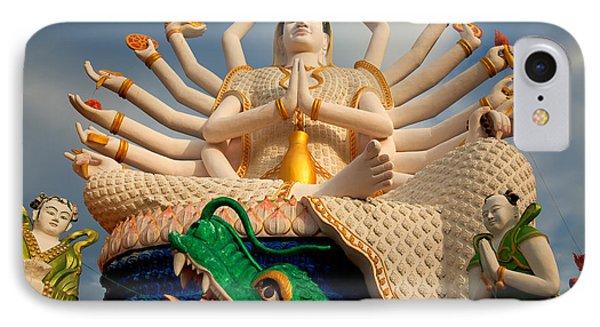 Plai Laem Buddha IPhone Case by Adrian Evans