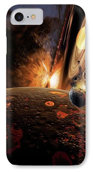Planet Formation IPhone Case by Don Dixon