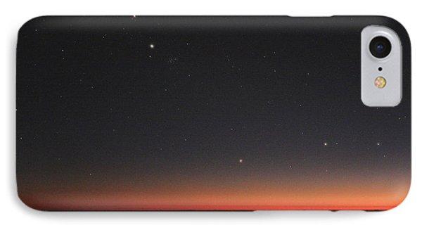 Planetary Conjunction, Optical Image Phone Case by Eckhard Slawik