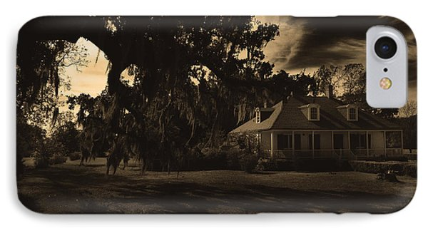Plantation House  IPhone Case by Maggy Marsh