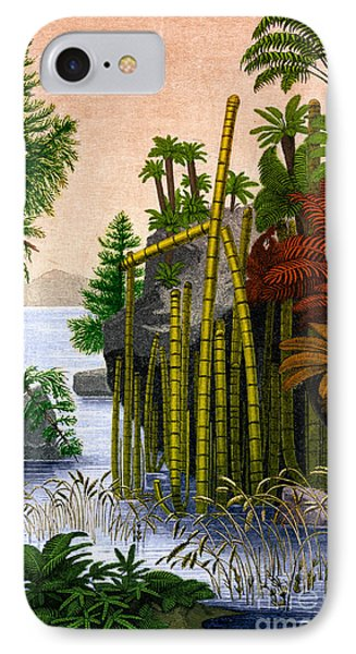 Plants Of The Triassic Period Phone Case by Science Source