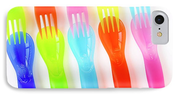 Plastic Cutlery Phone Case by Carlos Caetano