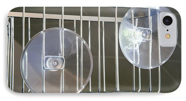 Plastic Suction Cups Phone Case by Sheila Terry