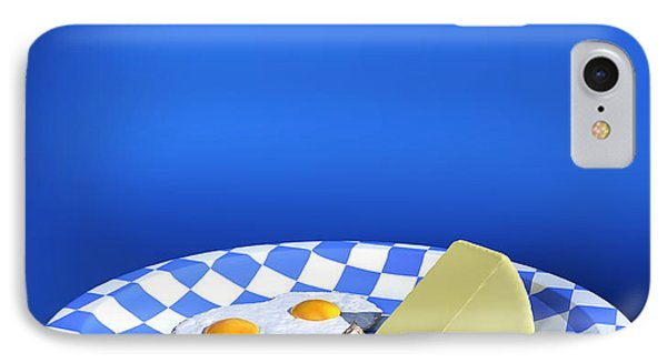 Plate Of Low Carbohydrate Food IPhone Case by Christian Darkin
